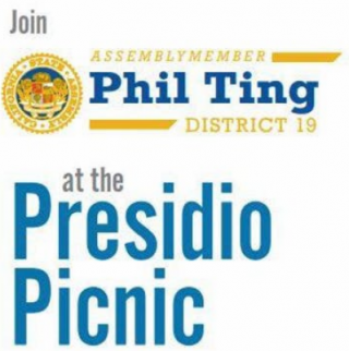 Join Assemblymember Phil Ting at the Presidio Picnic on September 23