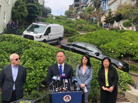 Ting Announces Legislation to Bring Reservation & Pricing Program to Lombard Street