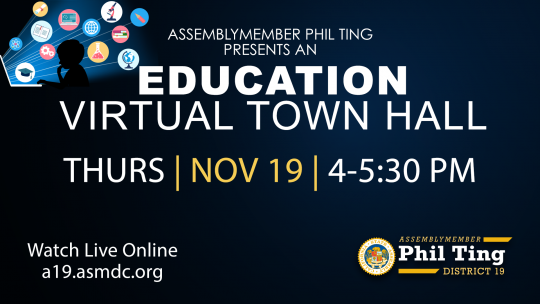 NOV 19: Ting Hosts Education Virtual Town Hall