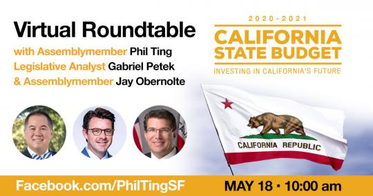 Bipartisan Virtual Roundtable on The California State Budget