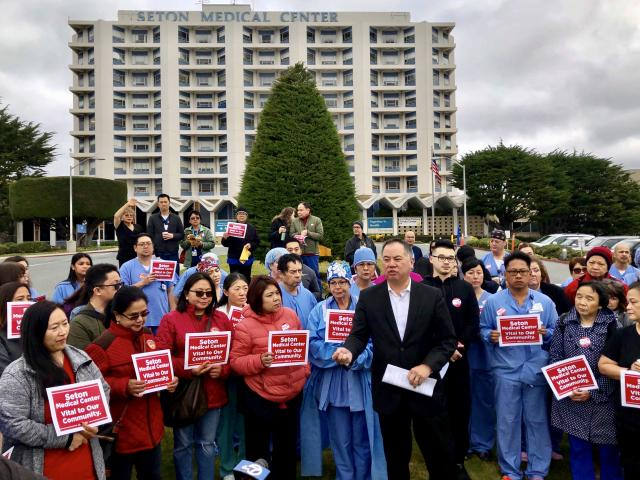 Bay Area Elected Officials Call on Verity Health System to Reverse Decision to Close Seton Medical Center