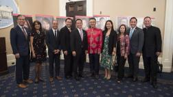 Assemblymember Ting with Other API Honorees