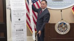 Skip the Slip Press Conference with Assemblymember Ting